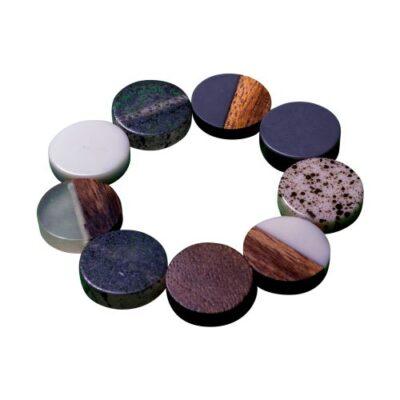 mixed resin bracelet