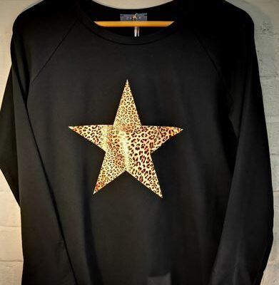 Black Chalk Tasha with leopard star