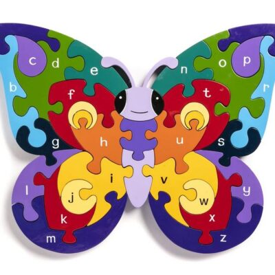 Alphabet Butterly Jigsaw
