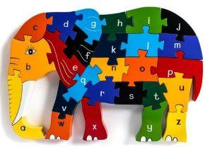 Alphabet Elephant Jigsaw