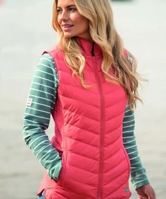 LIGHTWEIGHT CORAL GILET