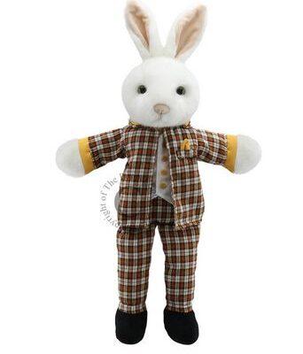 mr rabbit hand puppet