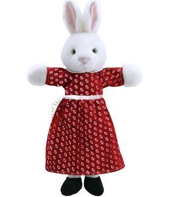 mrs rabbit hand puppet