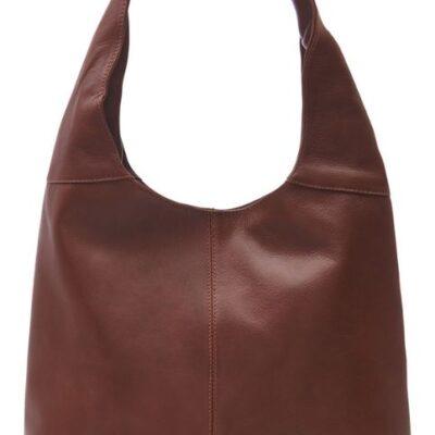 Chocolate shoulder bag