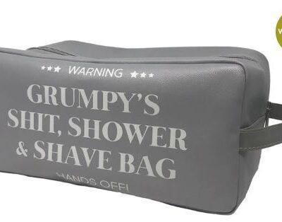 Grumpy wash bag