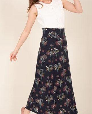 Meadow Flower Maxi Skirt