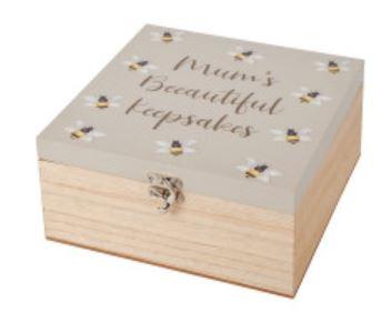 mum bee keepsake box