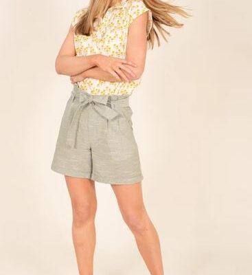papernag waist shorts