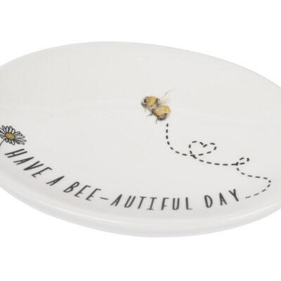 bee soap dish