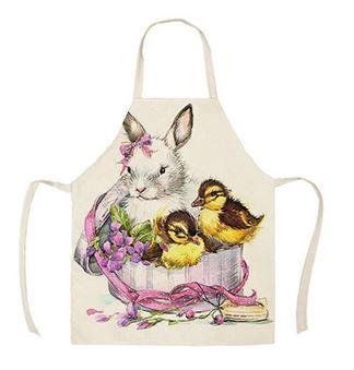 Beautiful bunny apron